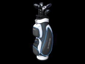 ゴルフ-バッグ2-イラストわいるどべあさんによるイラストACからのイラスト