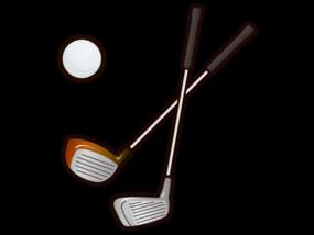 ゴルフクラブとボール-イラストtoraneko6さんによるイラストACからのイラスト
