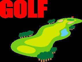 ゴルフコース2-イラスト