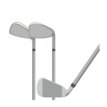 ゴルフ-クラブ(アイアン)-イラストacworksさんによるイラストACからのイラスト