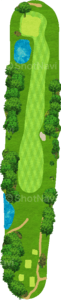 アロニミンクゴルフクラブ 10番ホール