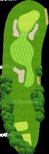 アロニミンクゴルフクラブ 14番ホール