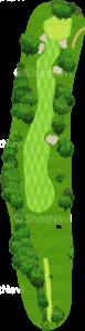 アロニミンクゴルフクラブ 18番ホール