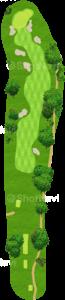 アロニミンクゴルフクラブ 3番ホール