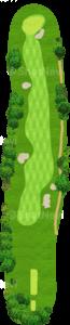 アロニミンクゴルフクラブ 4番ホール