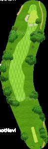 アロニミンクゴルフクラブ 7番ホール