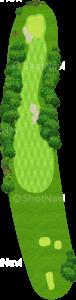 オーガスタナショナルゴルフクラブ 1番ホール