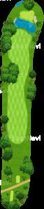 オーガスタナショナルゴルフクラブ 15番ホール