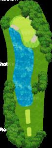 オーガスタナショナルゴルフクラブ 16番ホール
