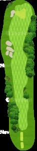 オーガスタナショナルゴルフクラブ 3番ホール