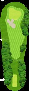 オーガスタナショナルゴルフクラブ 6番ホール