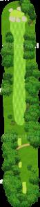 オーガスタナショナルゴルフクラブ 7番ホール