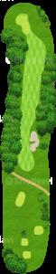 オーガスタナショナルゴルフクラブ 8番ホール