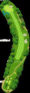 チャンピオンズゴルフクラブ サイプレスクリークコース 1番ホール