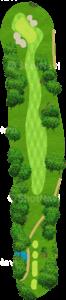 チャンピオンズゴルフクラブ サイプレスクリークコース 15番ホール