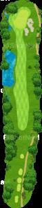 チャンピオンズゴルフクラブ サイプレスクリークコース 17番ホール