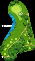 チャンピオンズゴルフクラブ サイプレスクリークコース 4番ホール