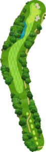 チャンピオンズゴルフクラブ サイプレスクリークコース 7番ホール