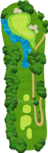チャンピオンズゴルフクラブ サイプレスクリークコース 8番ホール