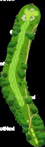 チャンピオンズゴルフクラブ サイプレスクリークコース 9番ホール