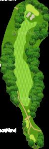エビアンリゾートゴルフクラブ 10番ホール