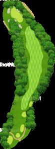 エビアンリゾートゴルフクラブ 11番ホール