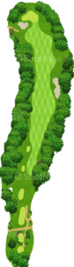 エビアンリゾートゴルフクラブ 13番ホール