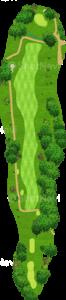 エビアンリゾートゴルフクラブ 15番ホール