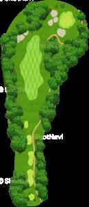 エビアンリゾートゴルフクラブ 16番ホール