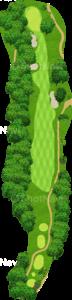 エビアンリゾートゴルフクラブ 3番ホール