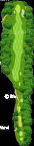 エビアンリゾートゴルフクラブ 4番ホール