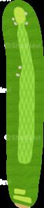 ロイヤルトゥルーンゴルフクラブ オールドコース 1番ホール