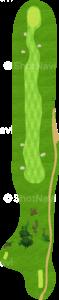 ロイヤルトゥルーンゴルフクラブ オールドコース 15番ホール