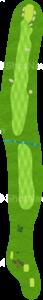 ロイヤルトゥルーンゴルフクラブ オールドコース 16番ホール