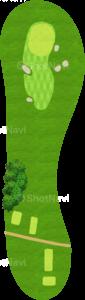 ロイヤルトゥルーンゴルフクラブ オールドコース 17番ホール