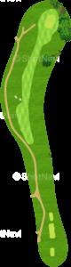 ロイヤルトゥルーンゴルフクラブ オールドコース 9番ホール