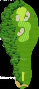 ウイングドフットゴルフクラブウエストコース 10番ホール