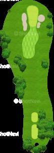 ウイングドフットゴルフクラブウエストコース 13番ホール