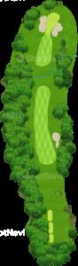 ウイングドフットゴルフクラブウエストコース 15番ホール