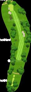 ウイングドフットゴルフクラブウエストコース 18番ホール