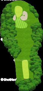ウイングドフットゴルフクラブウエストコース 7番ホール