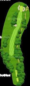 ウイングドフットゴルフクラブウエストコース 8番ホール
