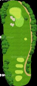 グレーストーンゴルフ&カントリークラブ ファウンダースコース 10番ホール