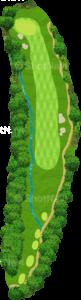 グレーストーンゴルフ&カントリークラブ ファウンダースコース 11番ホール