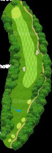 グレーストーンゴルフ&カントリークラブ ファウンダースコース 12番ホール
