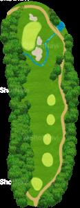 グレーストーンゴルフ&カントリークラブ ファウンダースコース 14番ホール
