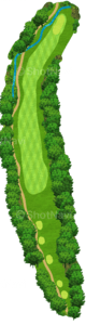 グレーストーンゴルフ&カントリークラブ ファウンダースコース 15番ホール