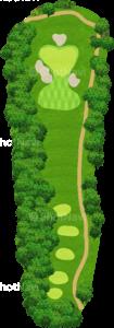 グレーストーンゴルフ&カントリークラブ ファウンダースコース 17番ホール