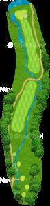グレーストーンゴルフ&カントリークラブ ファウンダースコース 18番ホール