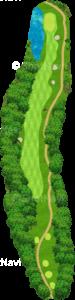グレーストーンゴルフ&カントリークラブ ファウンダースコース 2番ホール